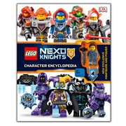 LEGO Nexo Knights Character Encyclopedia Hardcover Book