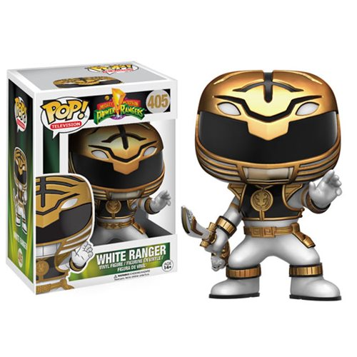 Mighty Morphin' Power Rangers White Ranger Pop! Vinyl Figure