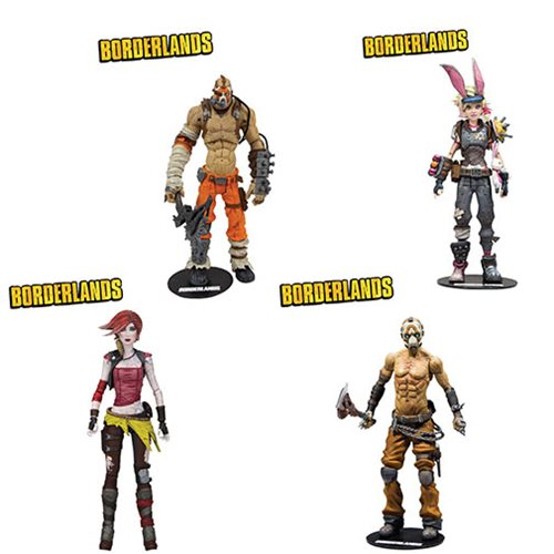 Borderlands Series 4 7-Inch Action Figure Set
