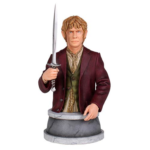 The Hobbit Trilogy Bilbo Baggins Mini-Bust