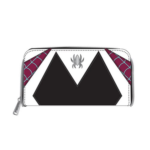 Spider-Gwen Cosplay Zip-Around Wallet