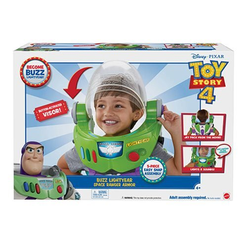 Toy Story 4 Buzz Lightyear Space Ranger Armor with Jet Pack Role Play