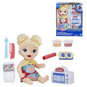 Baby Alive Snackin' Treats Baby Doll - Blonde Curly Hair