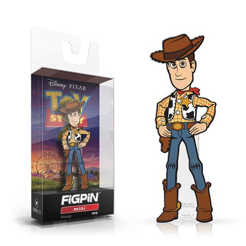 Toy Story 4 Woody Mini FiGPiN Enamel Pin