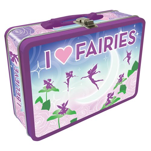 I Heart Fairies Regular Fun Box Tin Tote