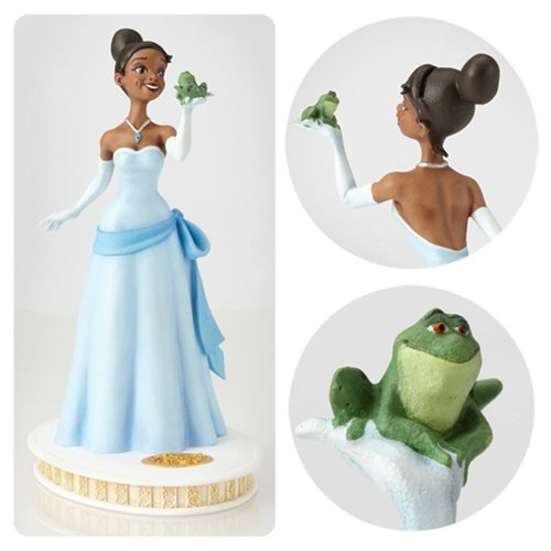Walt Disney Archives Collection Princess and the Frog Tiana Maquette Statue