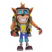 Crash Bandicoot Deluxe Crash with Jetpack Action Figure