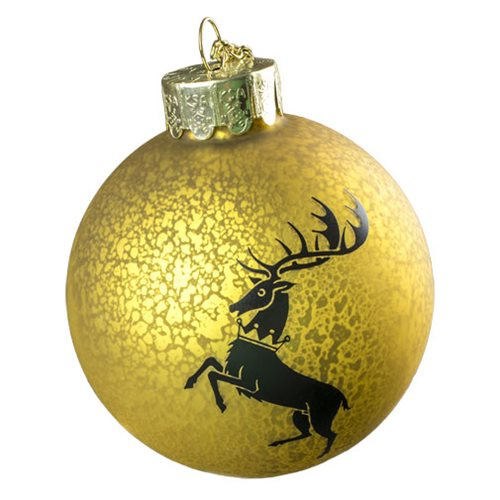 Game of Thrones House Baratheon Crest Decal Ball Ornament, Not Mint