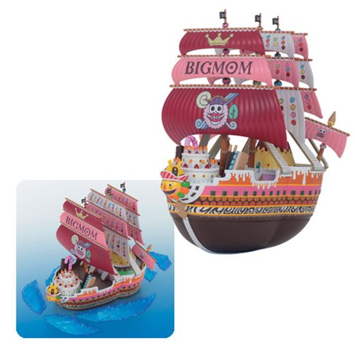 One Piece Big Mom's Pirate Ship Grand Ship Collection Model Kit