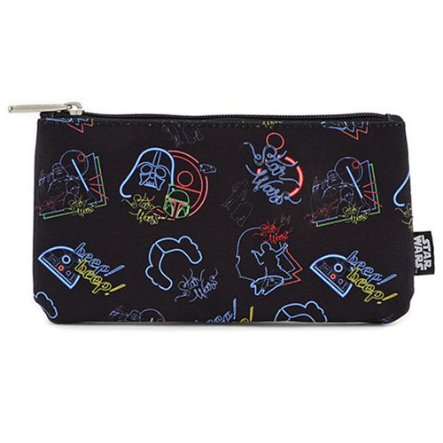 Star Wars Character Neon Pencil Case