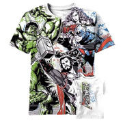 Avengers Able and Ready All Over Print T-Shirt