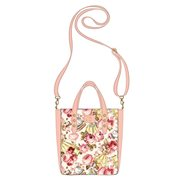 Beauty and the Beast Belle Character Floral Print Tote Purse