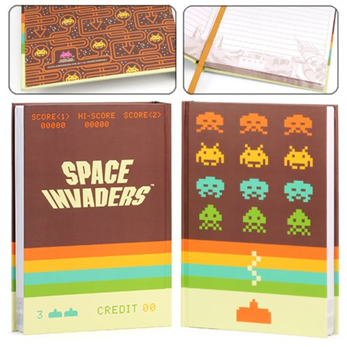 Space Invaders Retro Journal