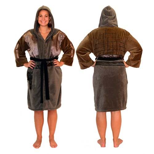Star Wars Rogue One Jyn Hooded Fleece Bathrobe