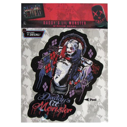 Suicide Squad Harley Quinn Daddy's Little Monster Decal