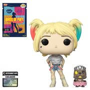 Birds of Prey Harley Quinn with Beaver Pop! Vinyl Figure with Collectible Card - Entertainment Earth Exclusive