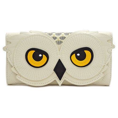 Harry Potter Hedwig Owl Trifold Wallet
