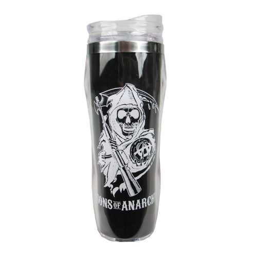 Sons of Anarchy Reverse Logo Travel Mug