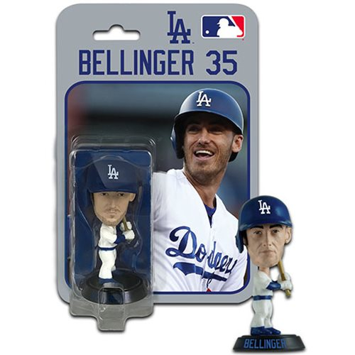MLB Los Angeles Dodgers Cody Bellinger 4-Inch Bobble Head