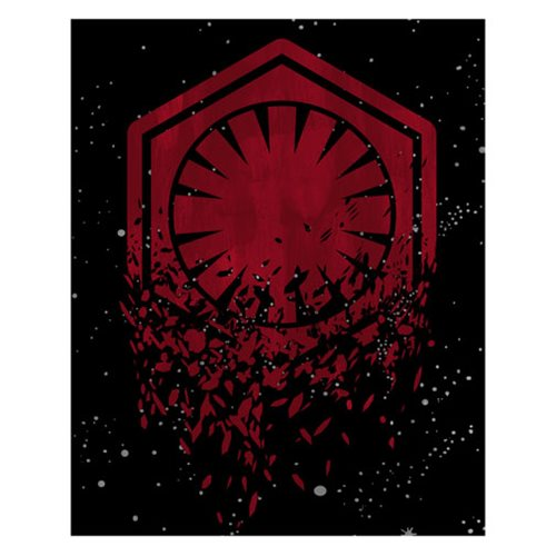 Star Wars: The Last Jedi Deconstructed Order Icon Canvas Print