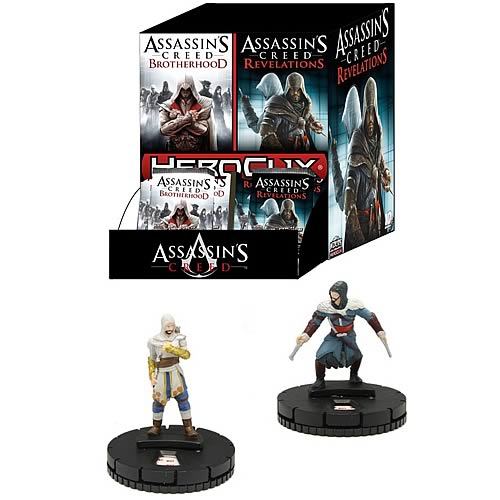 Assassin's Creed HeroClix Mini-Figure Booster Foil 4-Pack
