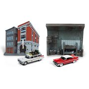 Johnny Lightning Silver Screen Diorama 1:64 Scale Set