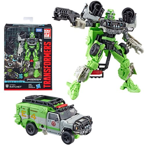 Transformers Studio Series  Deluxe Class Dark of the Moon Autobot Ratchet, Not Mint