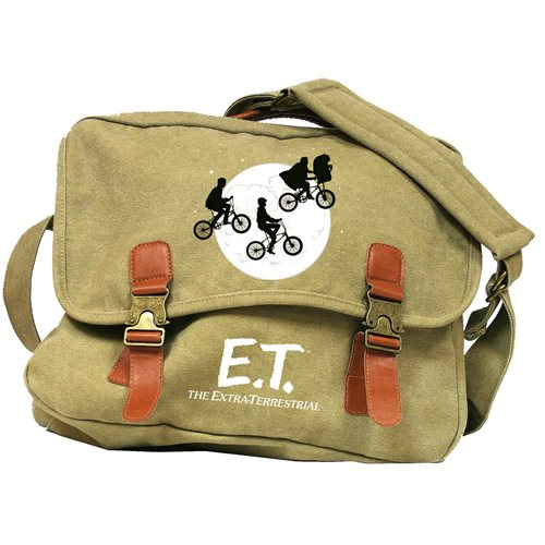 E.T. Moon Canvas Messenger Bag