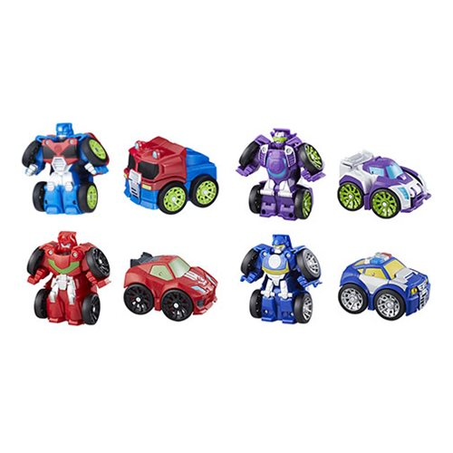 Transformers Rescue Bots Flipracers Wave 2 Set