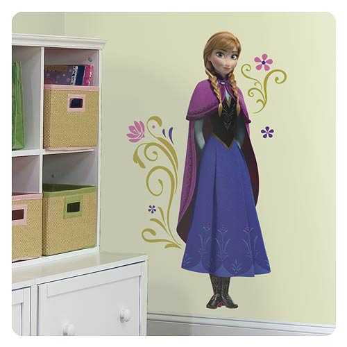 Disney Frozen Anna Peel and Stick Giant Wall Decal
