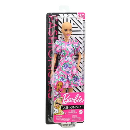 Barbie Fashionistas Doll #150 with No-Hair