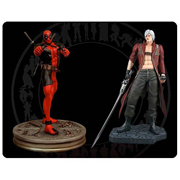 Marvel vs. Capcom 3 Deadpool vs. Dante Statues