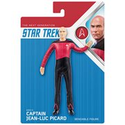 Star Trek Captain Picard Bendable Action Figure