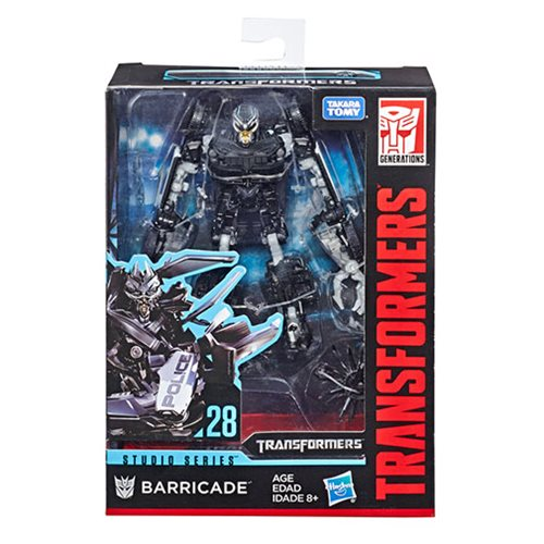 Transformers Studio Series Deluxe Class Transformers Barricade