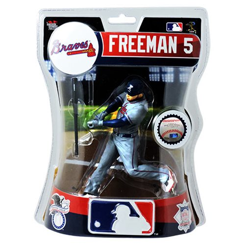 MLB Atlanta Braves Freddie Freeman 6-Inch Action Figure