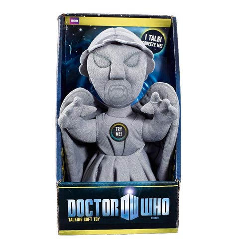 Doctor Who Weeping Angel Medium Sized Talking Plush