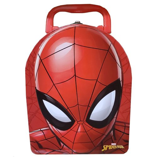 Spider-Man Arch Shape Carry All Tin Lunch Box