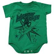 Mighty Mouse Stars Onesie