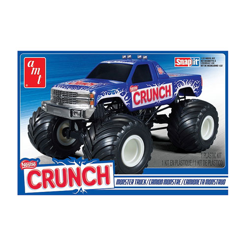 Nestle Crunch Chevy Monster Truck Snap-Fit Model Kit