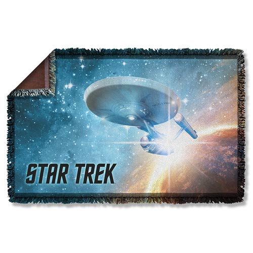 Star Trek Final Frontier Woven Tapestry Blanket