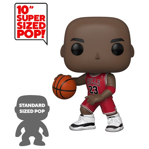 NBA Bulls Michael Jordan 10-Inch Pop! Vinyl Figure