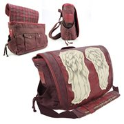 The Walking Dead Daryl Dixon Dead Red Wings Messenger Bag
