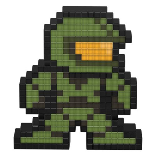 Pixel Pals Halo Master Chief Collectible Lighted Figure
