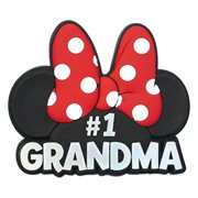 Minnie Mouse #1 Grandma Red Soft Touch Magnet