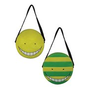 Assassination Classroom Koro Sensei Face Plush Bag