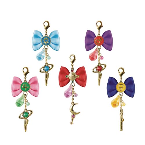Sailor Moon Crystal Die-Cast Metal Motif Charm Case