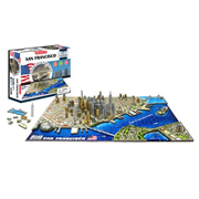 San Francisco USA 4D Puzzle