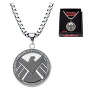 Agents of SHIELD Logo Stainless Steel Pendant Necklace