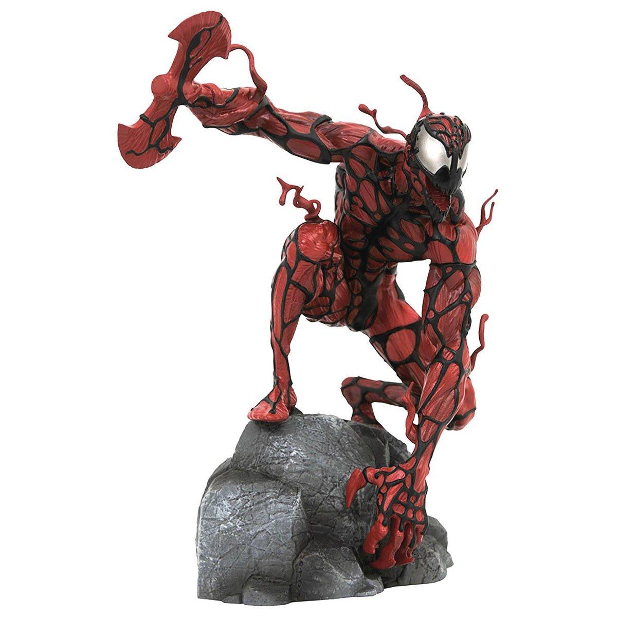 Halloween 2020 Carnage Marvel Gallery Glow in the Dark Carnage Statue   Halloween