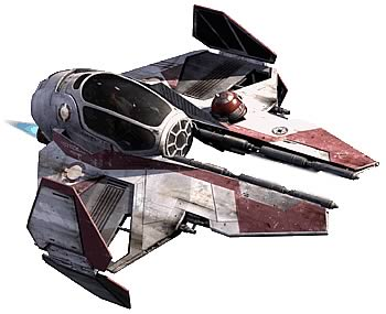 Star Wars Jedi Starfighter Model Kit